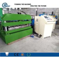 Buy cheap Hydraulic Steel Corrugated Roofing Sheet Crimping Machine , Metal Roofing Roll Forming Machine from wholesalers