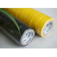 China PVC Fire Retardant Electrical Insulation Tape 18mm Width And 9m Length wholesale