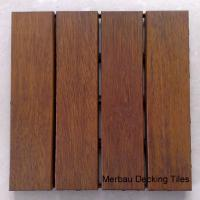 China Merbau decking tiles wholesale