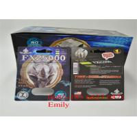 Quality Coated Paper Blister Card Packaging Glossy Lamination For Sexual Enhancement for sale