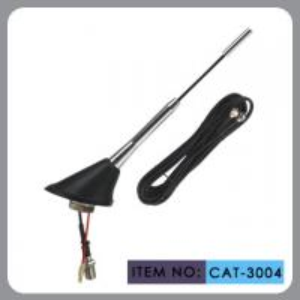 China Oxidation Aluminum Mast Dab Car Radio Antenna DC10-14V Linear Polarization wholesale
