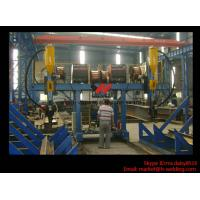 China H Beam Fabrication Welding Equipment / Auto Saw Welder For Flange And Web Welding Seam wholesale