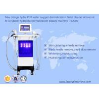 China Hydra PDT Ultrasonic Scrubber RF Beauty Machine Water Oxygen Dermabrasion Facial Cleaner wholesale