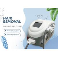 China Permanent IPL Hair Removal And Skin Rejuvenation Machine Two Handle on sale