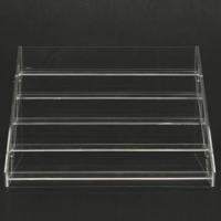 China muti-tier desktop acrylic nail polish holder, lucite makeup organizer, perspex nail polish display stand wholesale