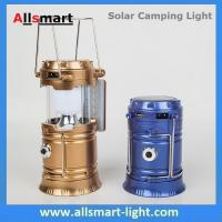 China Solar USB Port Recharger Tent Lamp With Desk Reading Lamp Table Lantern  LED Camping Light Tensile Lantern Flashlight wholesale