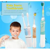 China ABS/ TPE Nylon Bristle Toothbrush , 1 X AAA Battery Childrens Battery Toothbrush wholesale