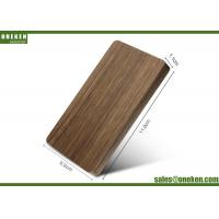 China 4000mAh Solid Walnut Wooden Portable Charger 110g With Polymer Battery Cell wholesale