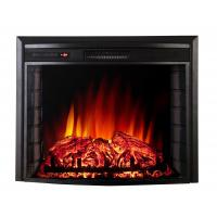 China 26 insert electric fireplace heater or wall mounted fireplace RV fireplace F2625A flat panel log fuel real flame wholesale