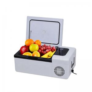 China 240mm High 12 Volt Mini Refrigerator / 45W 15l Portable Fridge Freezer wholesale