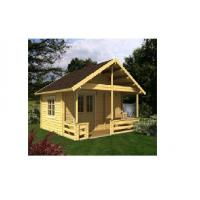 China Canadian Spruce Outdoor Wooden House , Wooden Chalet House For Accommodation wholesale