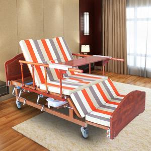 China Single Folding Medical Beds For Home , Hospital Style Beds Aluminum Side Rails wholesale