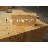 China Red SK36 Refractory Fire Clay Bricks For Furnaces Low Porosity High Density wholesale