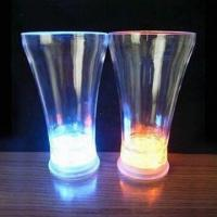 China Multicolor Flashing Ice Glasses with On/Off Button under Bottom wholesale