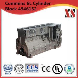 Cummins diesel engine cylinder block 4946152 for 6LTAA8.9 Cummins engine