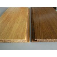 Quality Click lock Natural Strand Woven Bamboo Flooring for sale