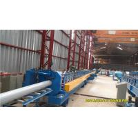 China 45# Steel Round Downspout Roll Forming Machine 40GP Container Integrated Adjustment wholesale