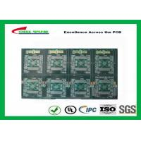 """China Professional Quick Turn PCB Prototypes FR-4 4.5MM Board Thickness Gold 50u"""" wholesale"""