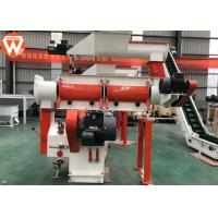 China Low Noise Animal Feed Pellet Machine Cattle Feed Making Machine 22kw Main Motor Power wholesale