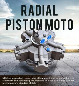 China NHM radial piston hydraulic motor on sale