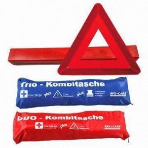 China Promotional Car Emergency Kit, Includes Warning Triangle wholesale