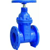 China DIN 3352 F4 Resilient Seated Sluice Gate Valves PN10 / 16 , Non Rising Stem Gate Valve wholesale