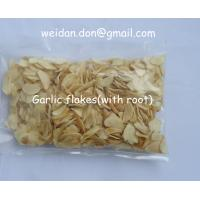 China dried garlic flakes with root wholesale