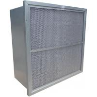 China Rigid Deep Pleated HEPA Air Filter GL Frame Filtration Efficiency F9 F8 F7 wholesale