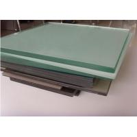 Milk PVB Film Laminated Tempered Safety Glass , Sandwiched Glass