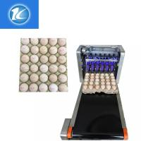 Buy cheap Automatic Continuous Inkjet Batch Coding Machine / Egg Grading Equipment from wholesalers