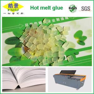 China Light Yellow Granule EVA Hot Melt Adhesive For Book Binding Glue on sale
