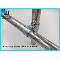 China High Intensity Chrome Pipe Connectors , 2.5 mm Industrial Pipe Fittings HJ-6D wholesale