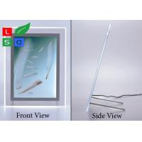 China High Brightness Crystal LED Light Box , A3 A4 A5 Image Size Light Box Display For Crystals on sale