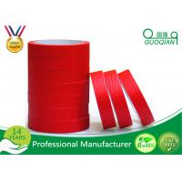 China Quality product Red crepe paper Maksing Tape For Automotive painting decoration 75mm Width wholesale