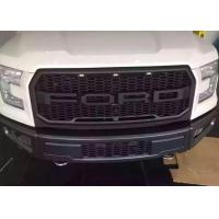 China Ford Raptor F150 2015 2017 Steel Front Bumper and Front Grille with Light wholesale