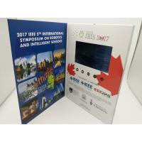 China Rechargeable Real Estate Video Brochure,digital video brochure,lcd video brochure with touch screen wholesale