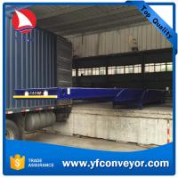 China Telescopic Belt Conveyor for offloading gunny bags,cartons and parcels on sale