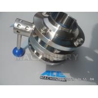 China Sanitary Stainless Steel Pulling Hanlde Butterfly Valve (ACE-DF-7T) on sale