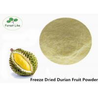 China Dehydrated Unsweetened Durian Freeze Dried Fruit Powder Food Grade wholesale