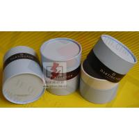 China Customized Food Packaging Tubes , Chocolate Paper Tube Containers wholesale
