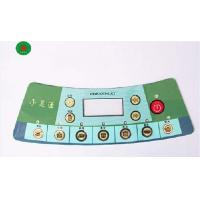 China Concave-Convex Waterproof Graphic Panel Overlay Membrane Keypad With 3M Adhesive on sale