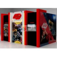 China Wonderful 4D Movie Theatre with Hydraulic 4D Simulator wholesale
