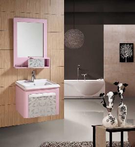 China Bathroom Cabinet / PVC Bathroom Cabinet wholesale