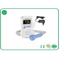 China 1bpm FHR Resolution Baby Heartbeat Doppler For Home / Clinic / Hospital wholesale
