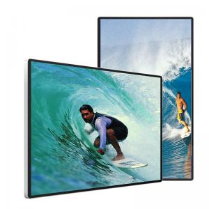 China 10.2B Wall Mounted Digital Signage 3840*2160 Transparent LCD Display 6ms wholesale