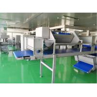 China Siemens PLC Dough Laminator Machine Maximal 144 Layers For Puff Pastry Dough wholesale