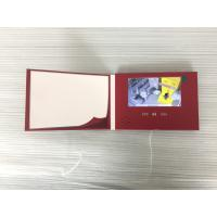 Advertisement and promotion Use 5inch LCD screen  video brochure video greeting card video screen with custom printing