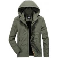 China Water Resistant Taped Seam Jacket , Thin Outdoor Hooded Military Jacket on sale