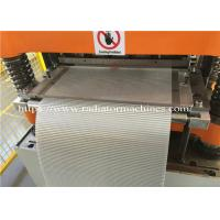 China Stable Performance 3003 Foil Radiator Fin Machine 45mm Height on sale