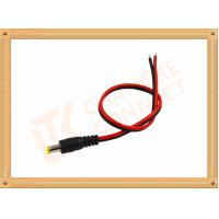 China Custom Cable Assembly Red And Black With Male Connector , Camera Power Cable wholesale